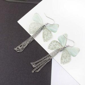 Gorgeous Silk Butterfly Earrings